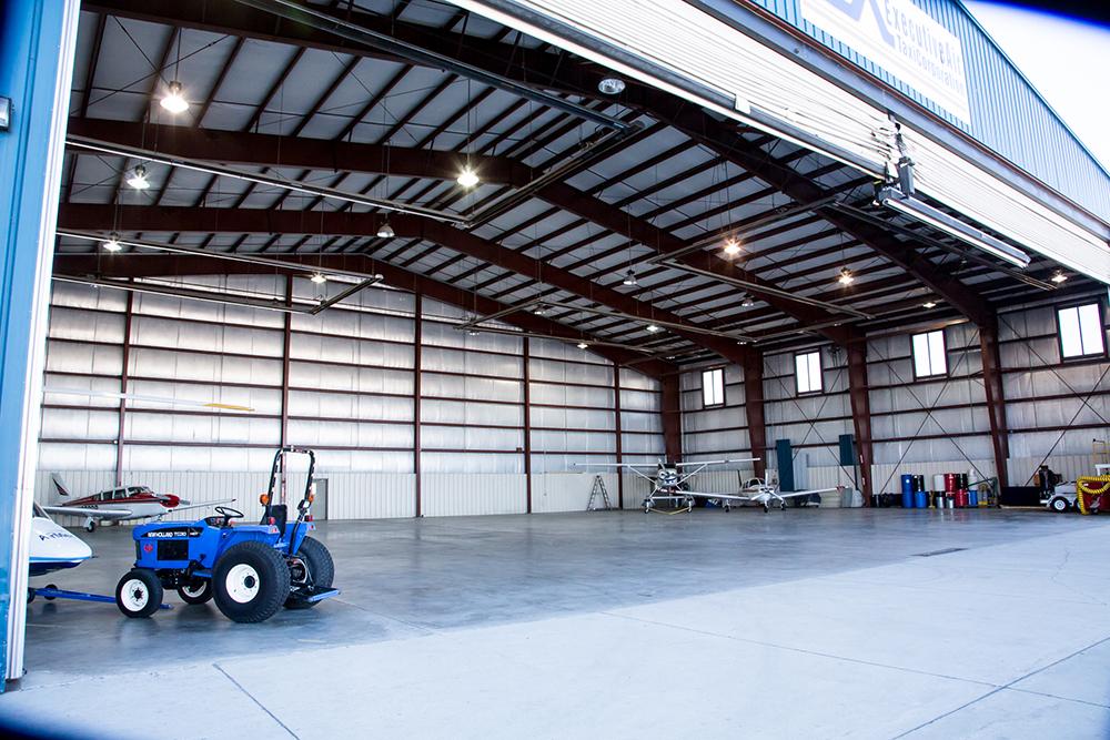 Refueling Air force jet at FBO facility